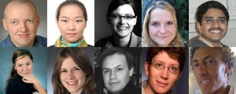 Portraits der Doktorand_innenvertretung 2013/14